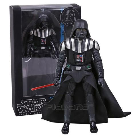 Kylo Ren, Stormtrooper, Phasma, Darth Maul, Darth Vader, Han Solo: Star Wars: The Black Series - PVC Action Figure