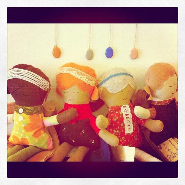 Fait Pour Toi handmade dolls.