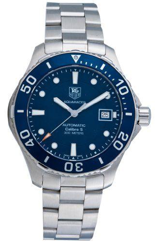 TAG Heuer Mens Aquaracer Stainless Steel Watch (WAN2111.BA0822): Watches: www.girardperregauxwatches.com