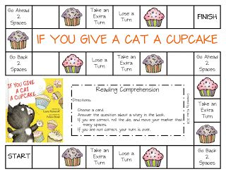 If You Give A Cat A Cupcake Education Pinterest