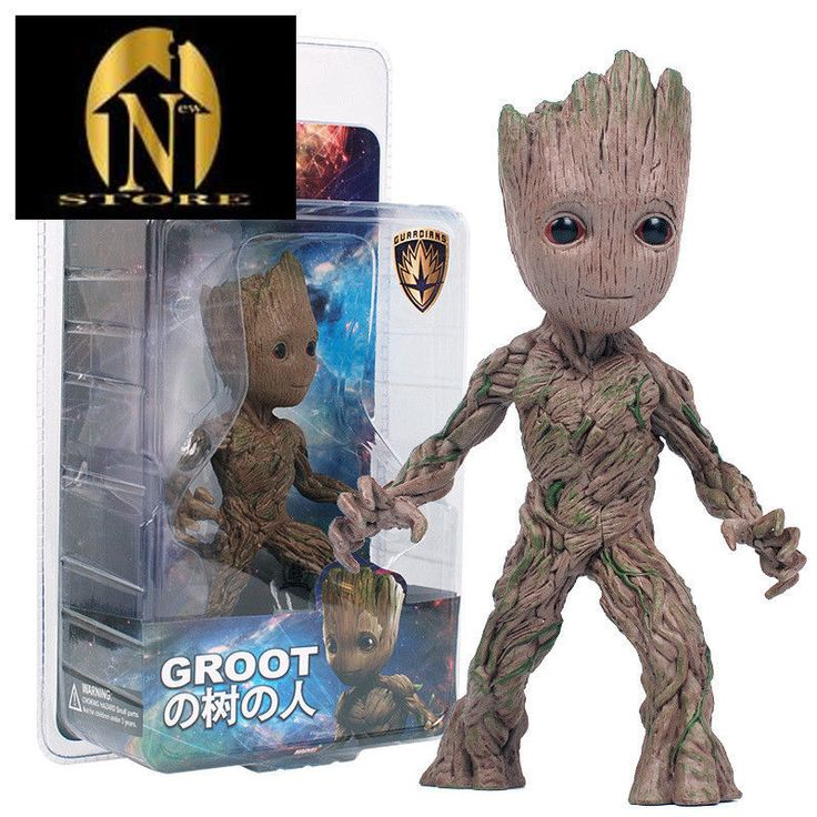 Top Quality 15cm Tree Man Groot Action Figure Toy PVC Marvel Movie Hero Model  #Doesnotapply