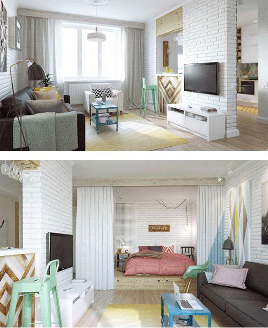 Oltre 25 fantastiche idee su loft piccoli su pinterest for Arredamento casa antica