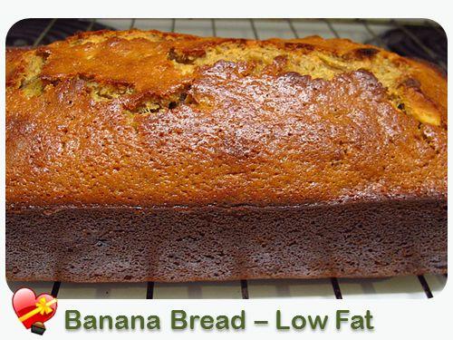 Banana Bread – Low Fat