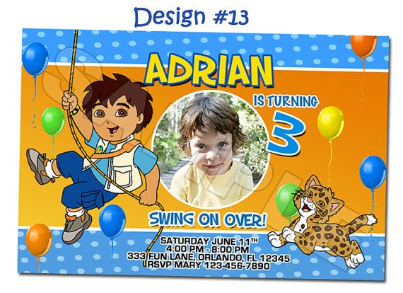34 best Dora and Diego images – Dora Party Invites