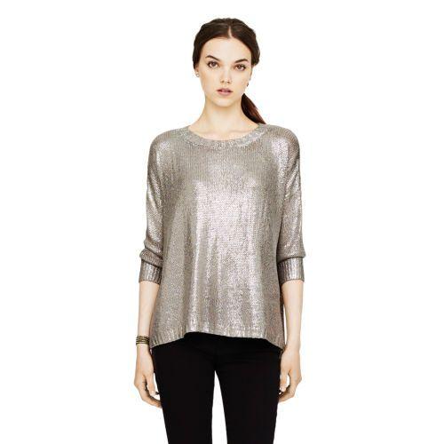 Silver Foil Sweater