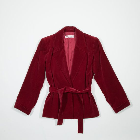 YVES SAINT LAURENT  giacca in velluto di MillesimeCollection