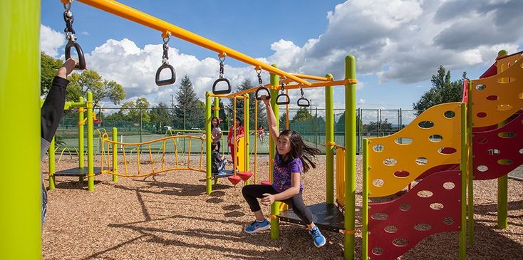 Sir Wilfrid Laurier Elementary – Fitness-focused playground