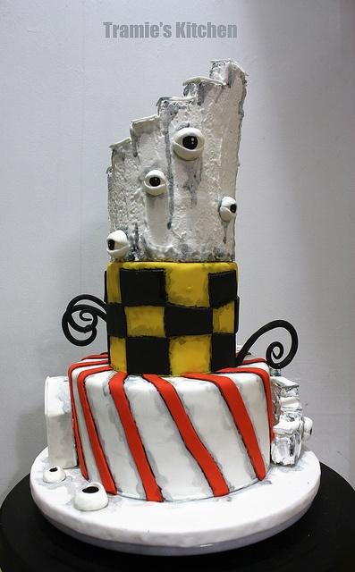 Tim Burton inspired cake _02 by Tramie s Kitchen, via ...