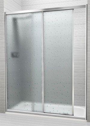 Mampara de ducha de 1 puerta corredera
