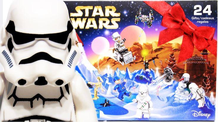 LEGO Toys | Star Wars Advent Calendar 2016 Stop motion build 75146
