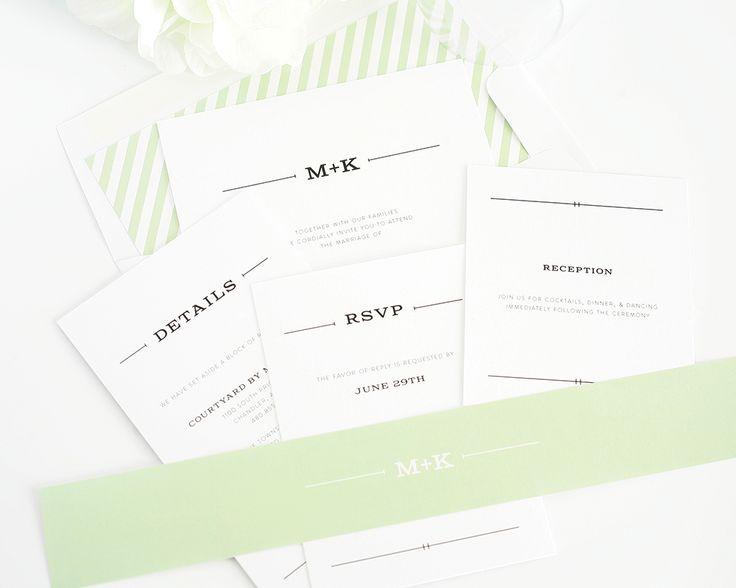 Rustic Simplicity Wedding Invitations - Wedding Invitations by Shine