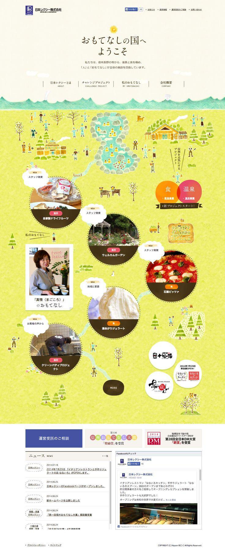 日本レクシー株式会社|日帰り温泉運営・飲食店運営・温泉コンサルタント http://www.omotenashi-1.jp/