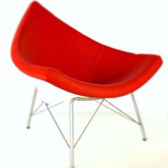 Coconut Chair in Red Italian Leather! sacarello.gi  #chairs #design #fashion #trend #red #leather #gibraltar #follow #fun #pics