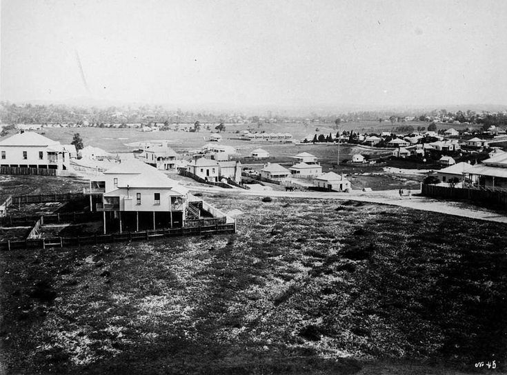 Houses and properties of New Farm, Brisbane, 1880