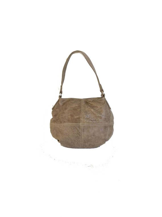 ace28a5df8 Distressed Leather Hobo Bag Purse