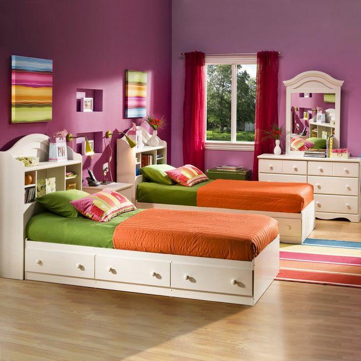 Die besten 25+ Jugendbett mit bettkasten Ideen auf Pinterest - schlafzimmer mit bettüberbau