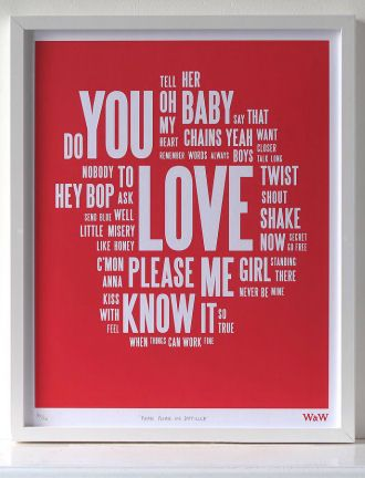The Beatles Please Print Wall Art ♥
