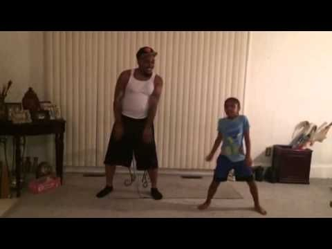 """Everyone else has been busy covering Arianna Grande's summer smash , but this father-daughter duo decided to choreograph their own dance routine to it instead.   This Father-Daughter Duo Dance To """"Problem"""" By Ariana Grande And It's Adorable"""
