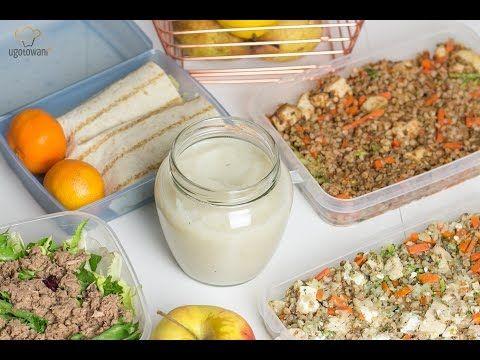 Posiłki na cały tydzień do pracy - Zamiast kanapki do pracy | Ugotowani.tv HD - YouTube