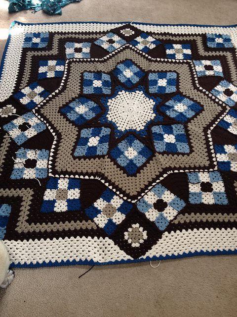 Irish crochet &: CROCHET BLANKET......ПЛЕД КРЮЧКОМ