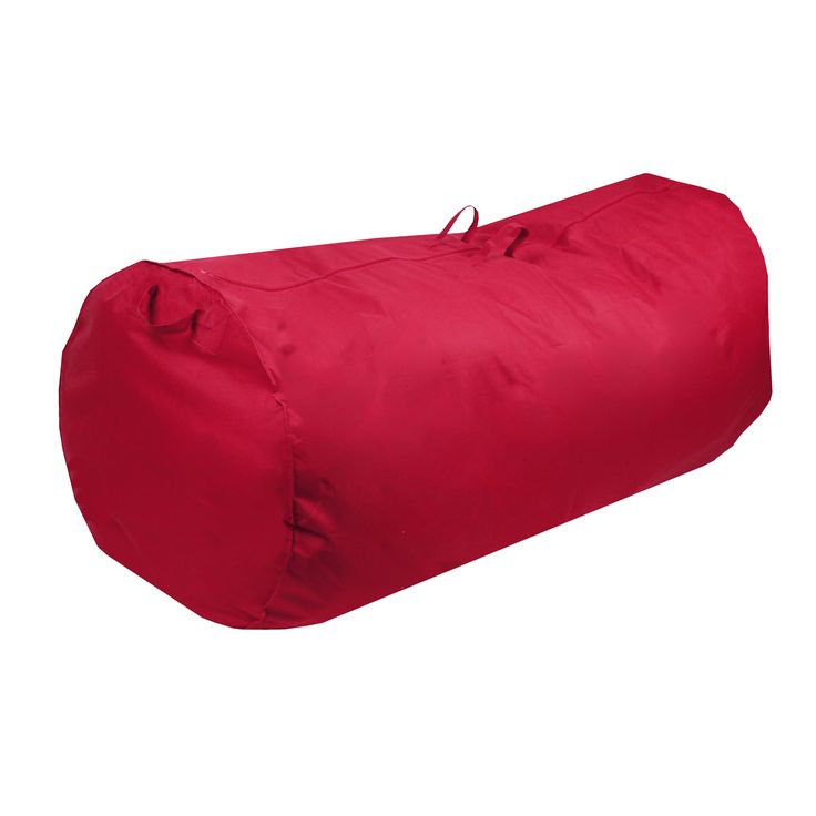 richards homewares large duffle artificial christmas tree storage bag red polyester - Christmas Tree Storage Bags