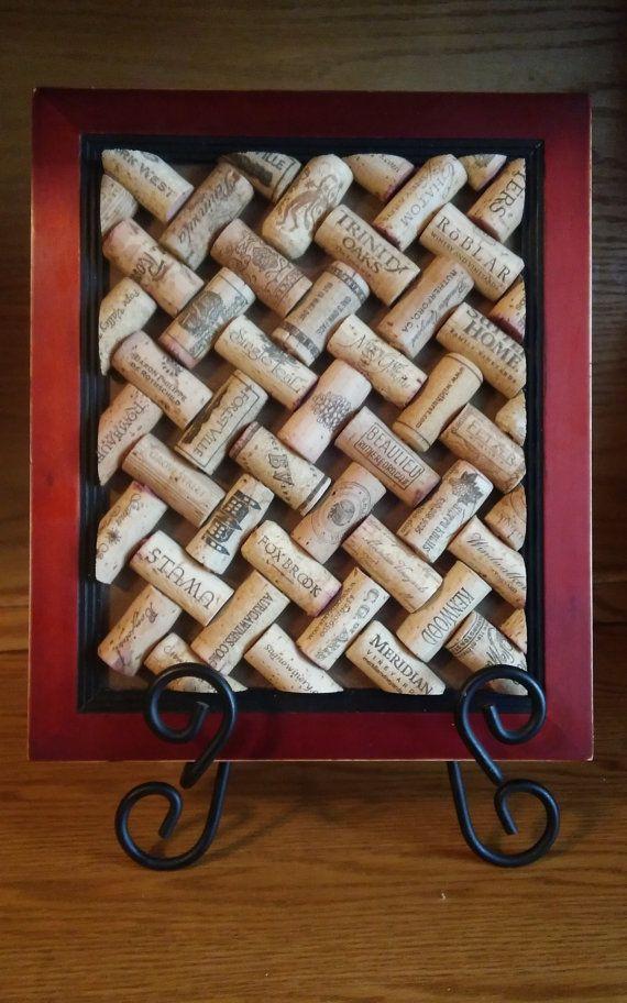 Treillis de dessous de plat Liège recyclé vin