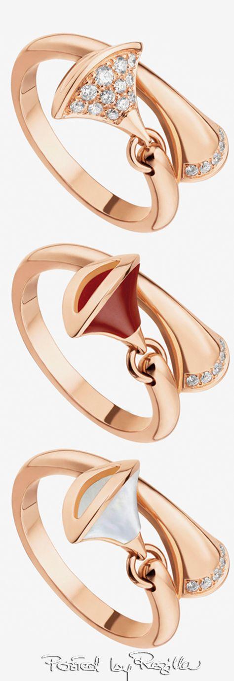Bulgari rose gold rings | House of Beccaria~