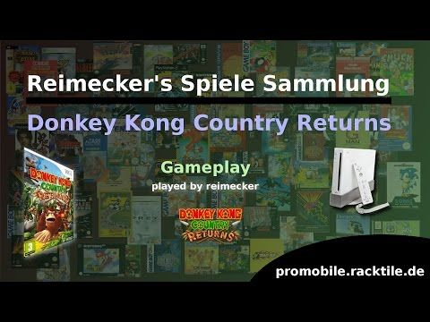 Reimecker's Spiele Sammlung : Donkey Kong Country Returns