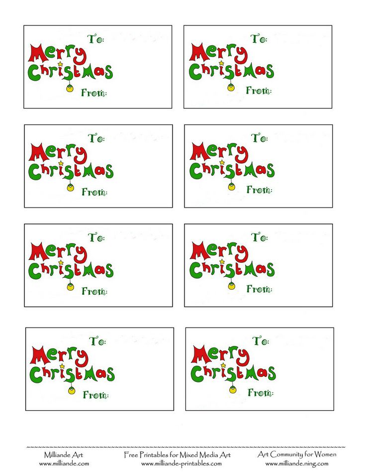 The 25+ best Christmas tag templates ideas on Pinterest - christmas gift card templates free