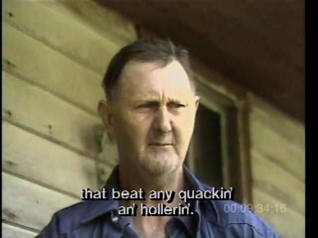Appalachian Journey is one of five films made from footage that Alan Lomax shot between 1978 and 1985 for the PBS American Patchwork series (1991).  It offers songs, dances, stories, and religious rituals of the Southern Appalachians. Preachers, singers, fiddlers, banjo pickers, moonshiners, cloggers, and square dancers recount the good times and the hard times of rural life there.