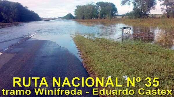 Nación confirmó inicio de alteos en la ruta 35