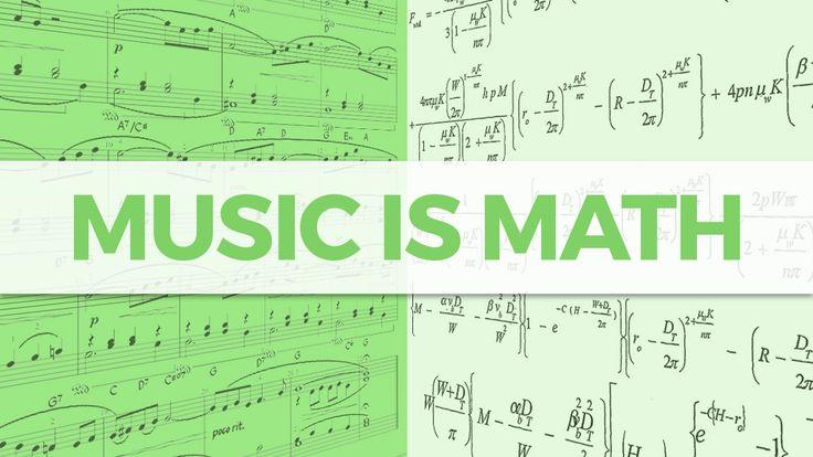 Музыка-это математика. Человека-происходит слияние эмоций и логики.  Даже слушать музыку-это шаблонный процесс. Понимая временную структуру, вы можете слушать музыку во времени и делать прогнозы о том, что будет дальше, основываясь на том, что вы уже слышали. И вы даже не имеете знаний