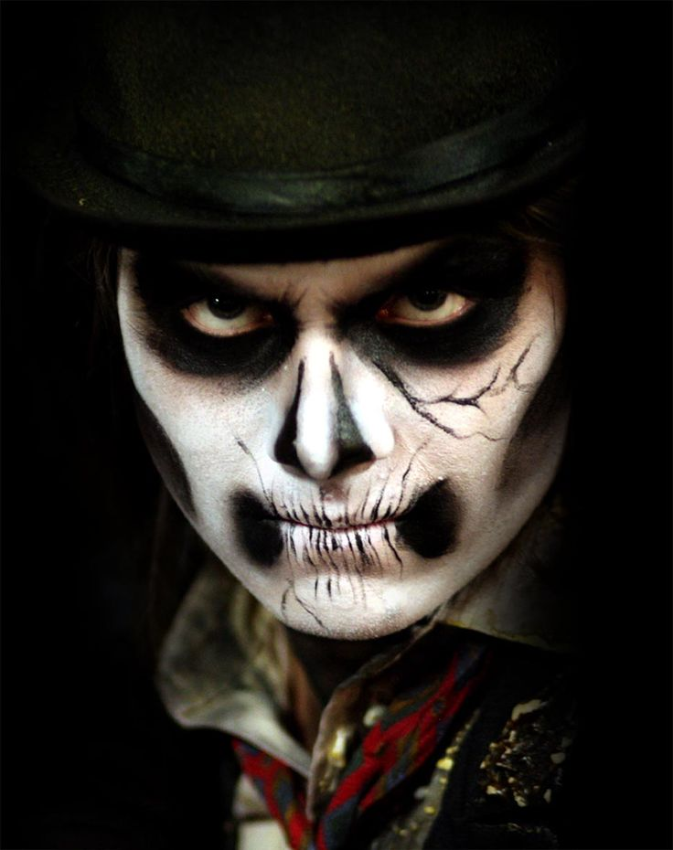 120 besten halloween f r m nner bilder auf pinterest - Halloween schminkideen ...