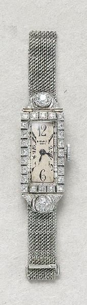 Breguet - Art Deco Diamond Watch - @Mlle #Vintage #Diamonds http://www.finditforweddings.com