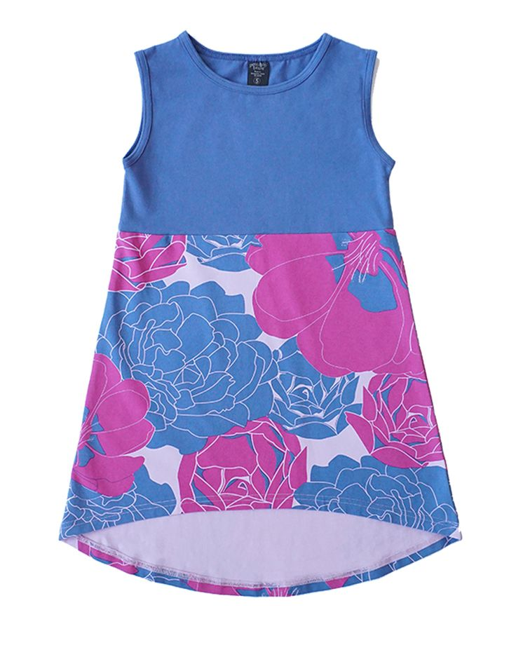 Fancy Flora Dress | Back-to-School Girls Collection | www.peekaboobeans.com