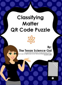 In this download you have 12 different vocabulary words, definitions, and pictures that when put together and flipped over, will reveal a QR code. The QR code provides a response that will alert students to let you know that they have mastered the vocabulary puzzle.