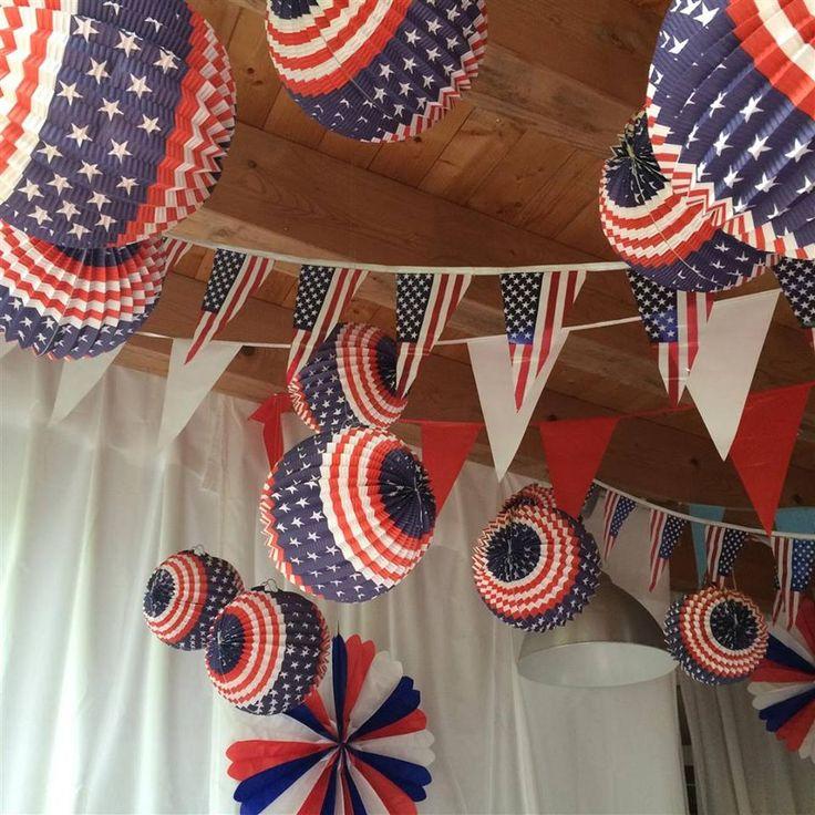 Perfekte America Party Deko