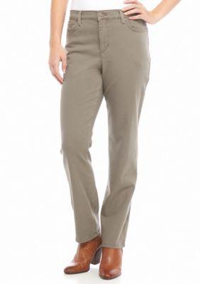 Gloria Vanderbilt Deep Oak Amanda Jeans