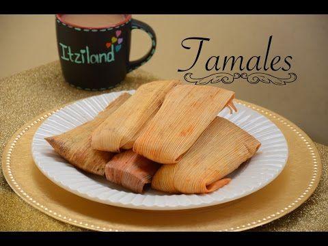 TAMALES MEXICANOS ROJOS Y VERDES - YouTube