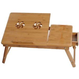 Best Laptop Table for Bed | PORTABLE LAPTOP NOTEBOOK COMPUTER DESK TABLE BED STAND WORK LAP TOP ...