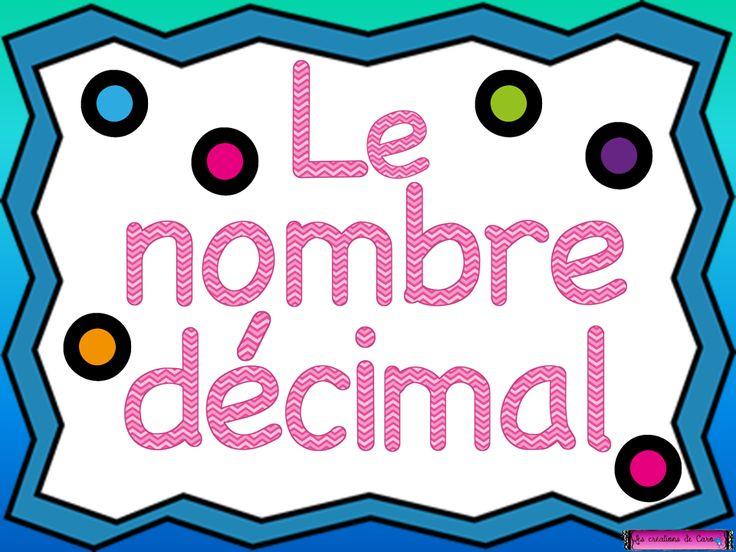 nombre décimal, tni, tbi, powerpoint, mathématique, arithmétique, enseignant, enseignante, primaire
