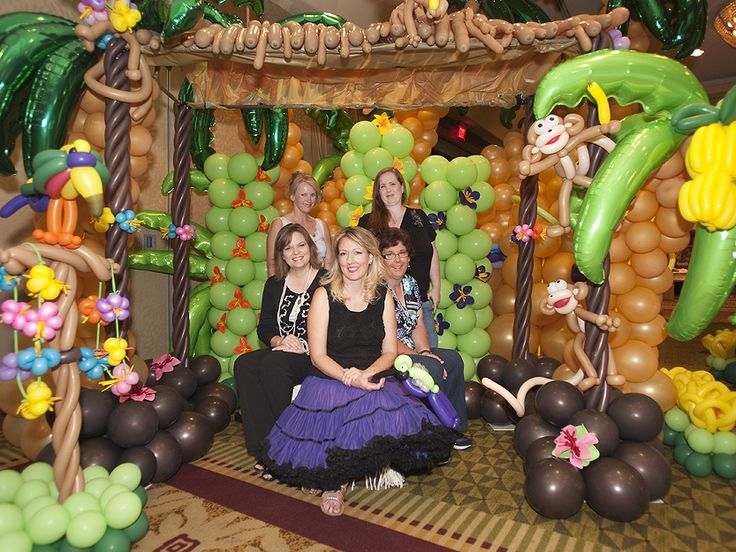 az balloon party balloon decor hawaiian style arizonas balloon 833 x 625 391 8kb. Black Bedroom Furniture Sets. Home Design Ideas