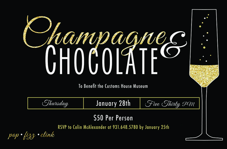 Clarksville's Customs House Museum to hold 7th Annual Champagne and Chocolate Fundraiser January 28th