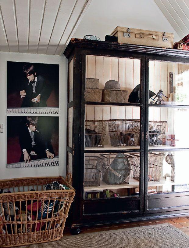 Bolig: Sommerhus med antikke møbler og loppefund   Femina