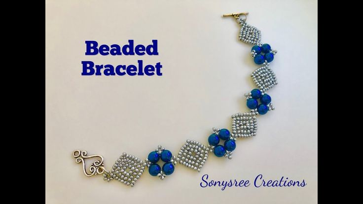 Diamonds ♦️ Bracelet. DIY beaded Bracelet. How to make beaded Bracelet