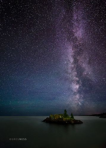 The Milky Way Over Lake Superior | This was on the North Sho… | Flickr                                                                                                                                                                                 More