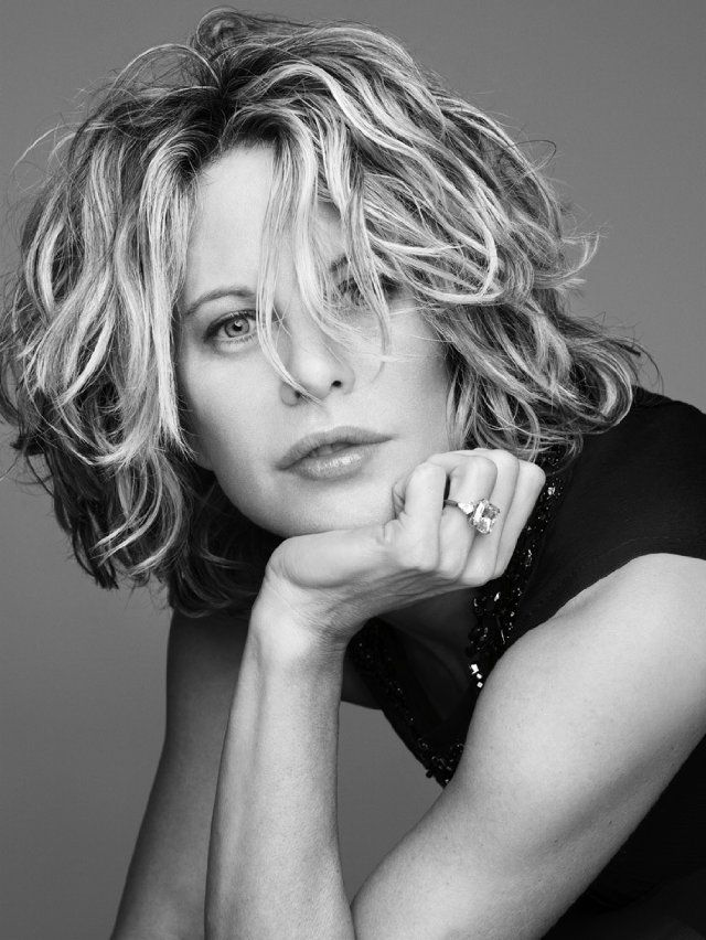 Meg Ryan  - apparently very shy and a sufferer of stage fright - quite the girl