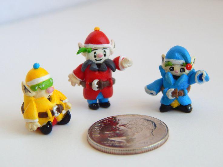 Harvest Moon Harvest Sprites Miniature Figurines by ClayKeep