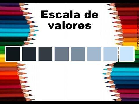 """Teoría del color Cap. 7 """"Escala de valores"""" - YouTube"""