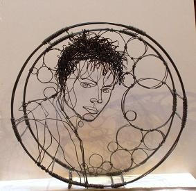 Bought this for my mother. Noah Saunders does amazing work with wire!